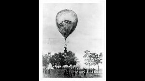 Ultimately, Thaddeus Lowe was successful in convincing President Lincoln that hot air balloons could be used as aerial spies in the Civil War.