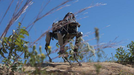 Marines Quadruped Prototype Robot Spot