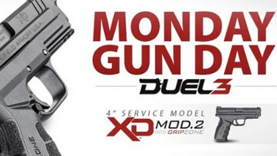 "Springfield Giving Away XD Mod.2 4.0"" Service Model 9mm Pistol Monday"