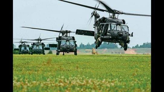 It is believed that the Abu Kamal raid was accomplished with Black Hawk helicopters.