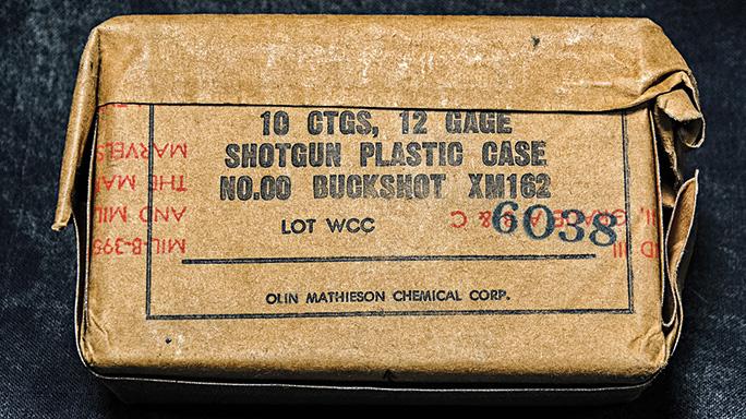 Stevens 77E Shotgun buckshot