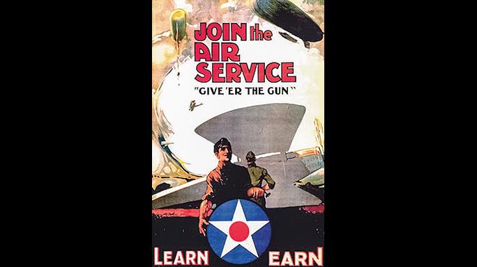 Air Service M1903 Rifle poster