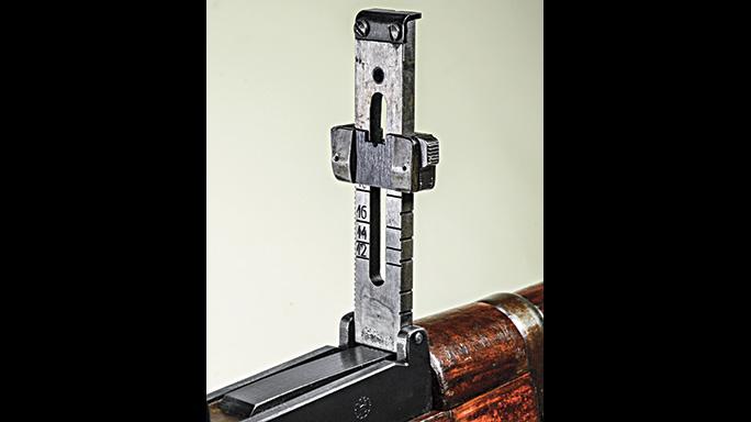 Mosin-Nagant M/28-30 rear sight