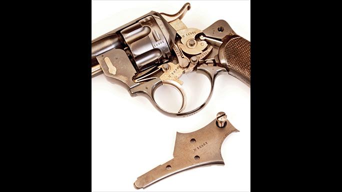 Chamelot-Delvigne revolver trigger