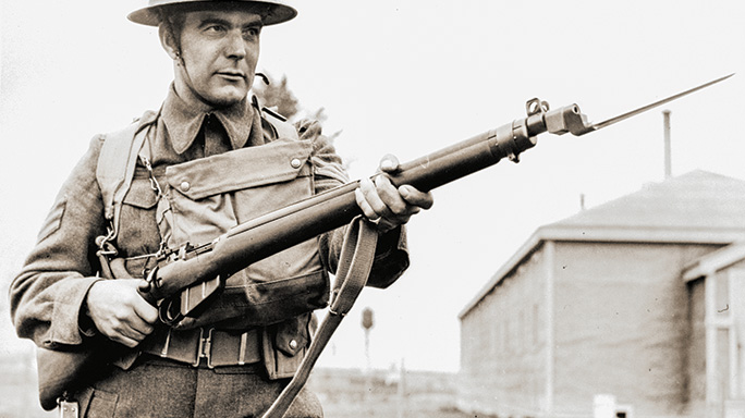 Lee-Enfield No. 4 Mk I field