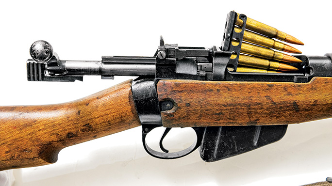 Lee-Enfield No. 4 Mk I load