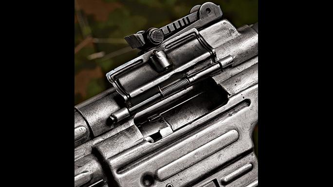 German Sturmgewehr 8mm Kurz StG44 Rifle ejection port