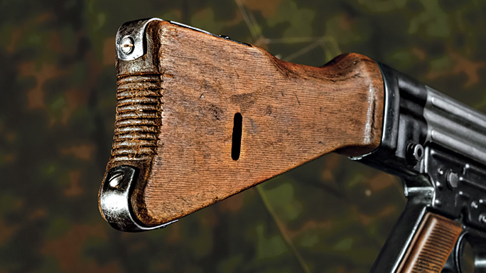 German Sturmgewehr 8mm Kurz StG44 Rifle stock
