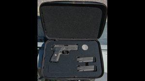 Sig Sauer Legion Series P229 video case