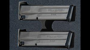 Sig Sauer Legion Series P229 video magazines