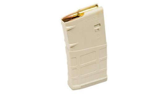 Magpul PMAG 20 LR/SR GEN M3 Magazines in Sand Color