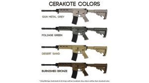 Stag Arms 4 New Cerakote Color AR-15 Rifles
