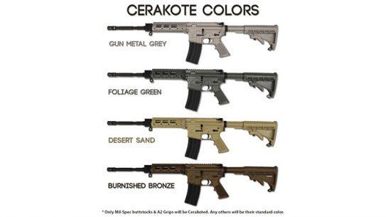 Stag Arms 4 New Cerakote Color AR-15 Rifles