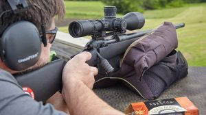 Savage Arms 10 FCP-SR Rifle field