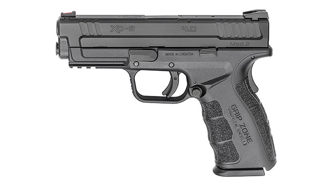 Springfield Armory XD 4-Inch Service Model Mod.2 9mm black left