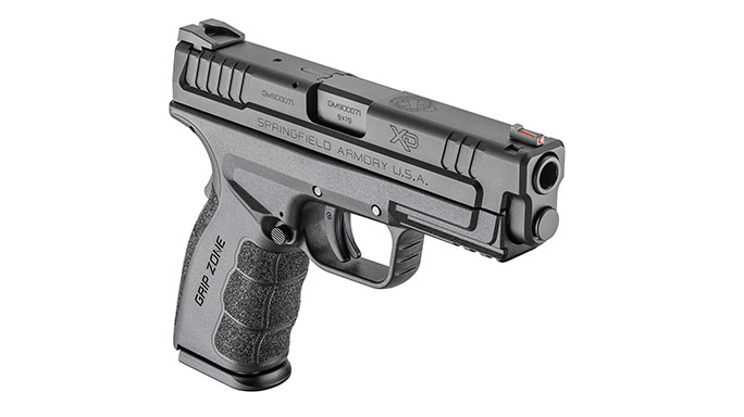 Springfield Armory XD 4-Inch Service Model Mod.2 9mm black angle right