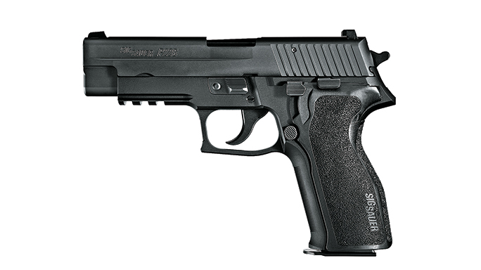 The special forces uses a number of SIG SAUER pistols as weapons.
