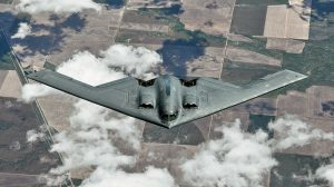 A stealth bomber delivered a bomb to kill Saddam Hussein, but he was not at the location U.S. Forces anticipated he would be.