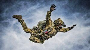 HALO Parachuting Ghosts lead