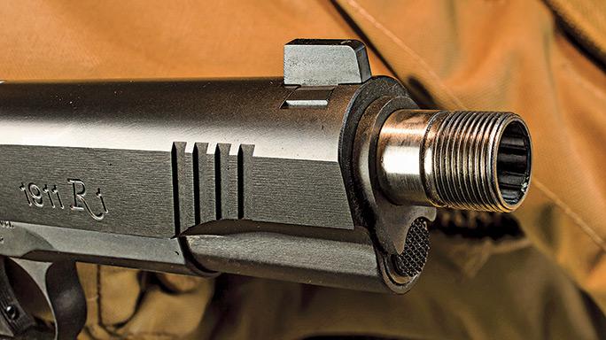 Gun Test: Remington's R1 Enhanced Threaded Barrel