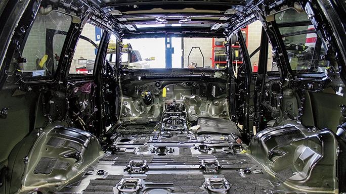Texas Armoring interior