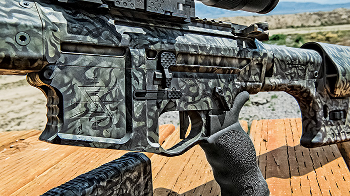 Custom 6.5 Creedmoor Tactical Weapons controls