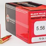 Black Hills 70-grain 5.56mm GMX