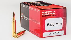 Black Hills 70-grain 5.56mm GMX