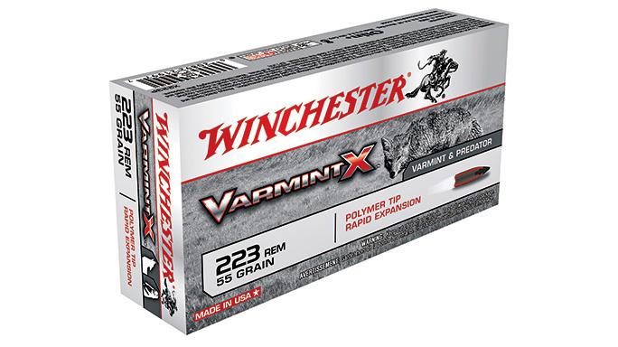 Winchester 55-grain .223 Varmint-X