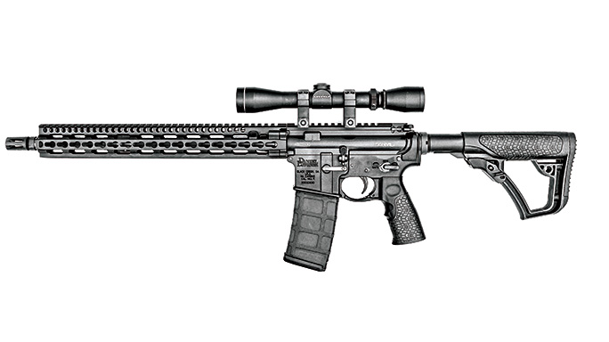 Test Daniel Defense DDM4V11LW Rifle left