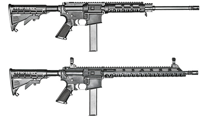 Stag Arm Model 9 Model 9T Rifles lead