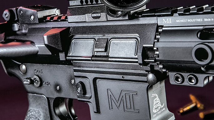 Midwest Industries SSK12 Minute Man Rifle controls