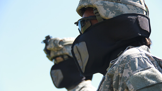 Army Respiratory Protective Mask Wrap