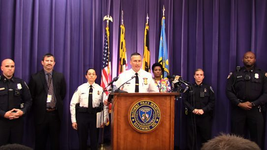 Baltimore Police Department Body Camera Pilot Program