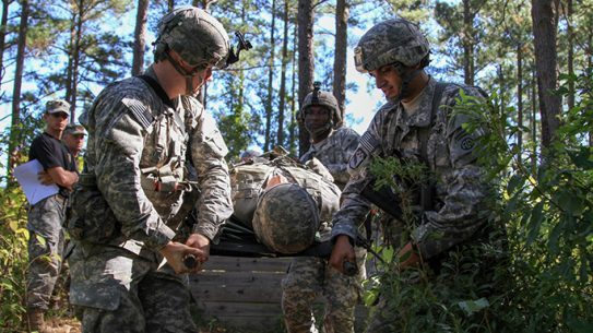 Golden Griffin Battalion Paratrooper Essential Task List Challenge 2015