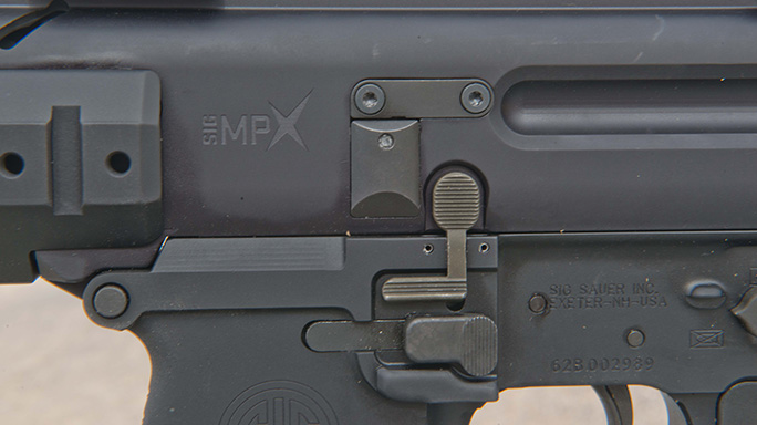 VIDEO Sig Sauer 9mm MPX-P Pistol controls