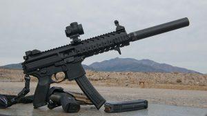 VIDEO Sig Sauer 9mm MPX-P Pistol solo