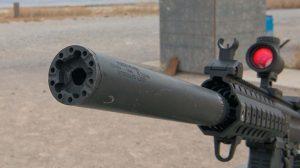VIDEO Sig Sauer 9mm MPX-P Pistol suppressor