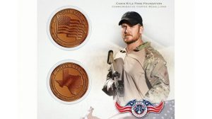 GMR Chris Kyle Commemorative Coins copper