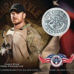 GMR Chris Kyle Commemorative Coins silver