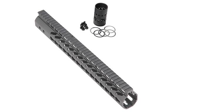 Guntec .308 Caliber KeyMod Handguards solo