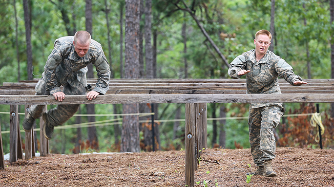 Lisa Jaster Ranger School