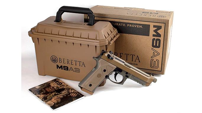 Beretta M9A3 Handgun Shipping