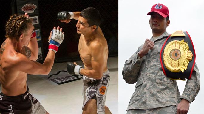 U.S. Air Force Mark Wirth MMA