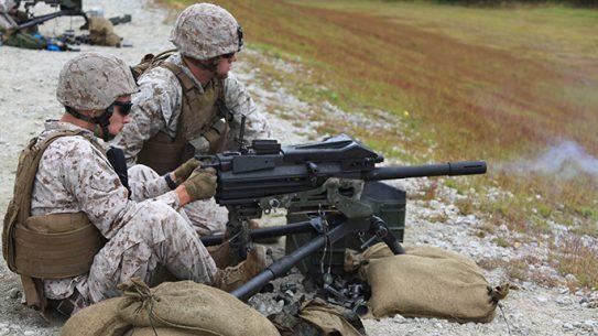 MK19 Launcher M67 Grenade Range Marines 2015