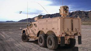 Oshkosh Defense M-ATV 6x6 Technology Demonstrator rear