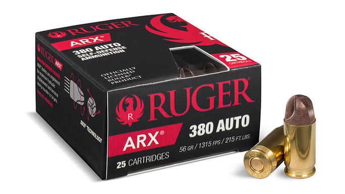 PolyCase Ruger ARX Ammunition 380 Auto