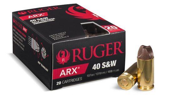 PolyCase Ruger ARX Ammunition 40SW