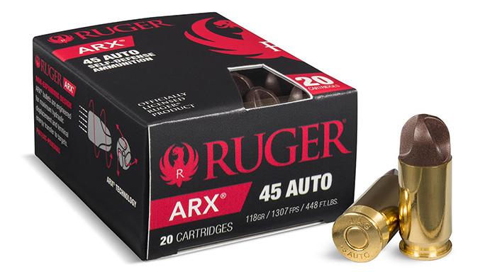 PolyCase Ruger ARX Ammunition 45 Auto