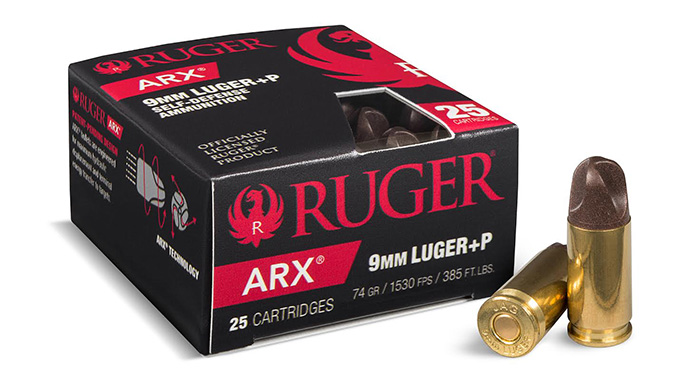PolyCase Ruger ARX Ammunition 9mm